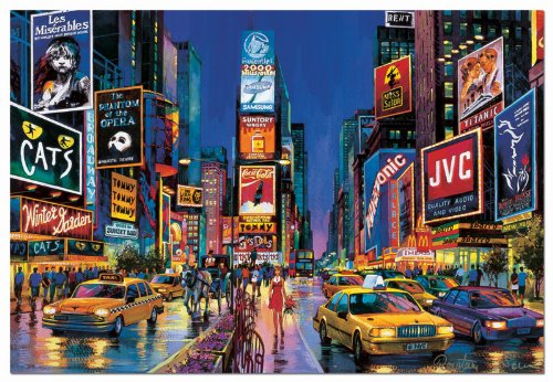 Times Square, New York Neon (1000 pc puzzle)