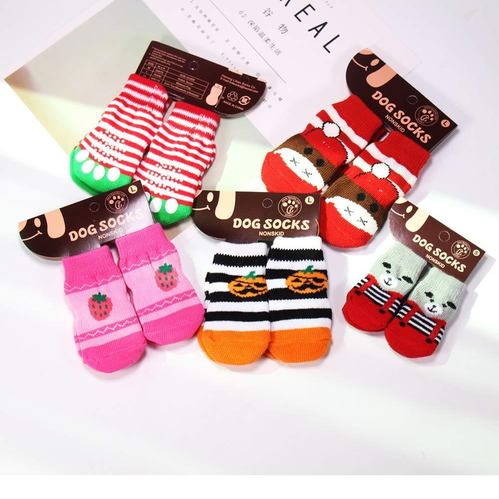 Yevison Dog Socks for Autumn and Winter (Random Color) by Yevison