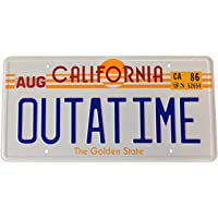 Back to the Future OUTATIME License Plate. Placa