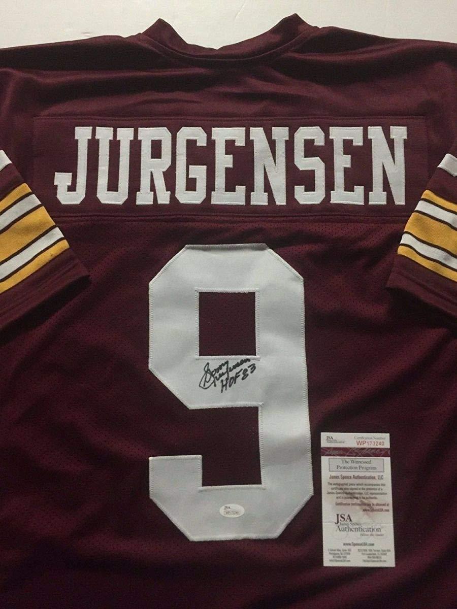 Autographed/Signed Sonny Jurgensen