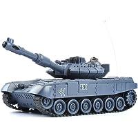 GizmoVine RC Tanque Teledirigido 1/28 Rusia T90 27Mhz