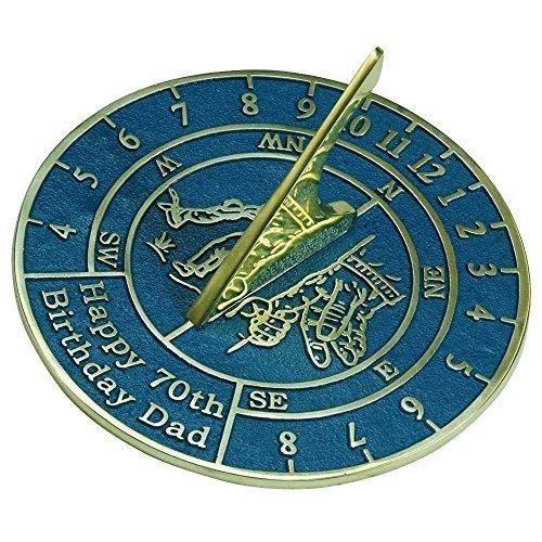 Birthday Anniversary Sundial Gift For Dad
