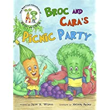 Broc and Cara's Picnic Party (Broc and Cara Gut Book Series 1)