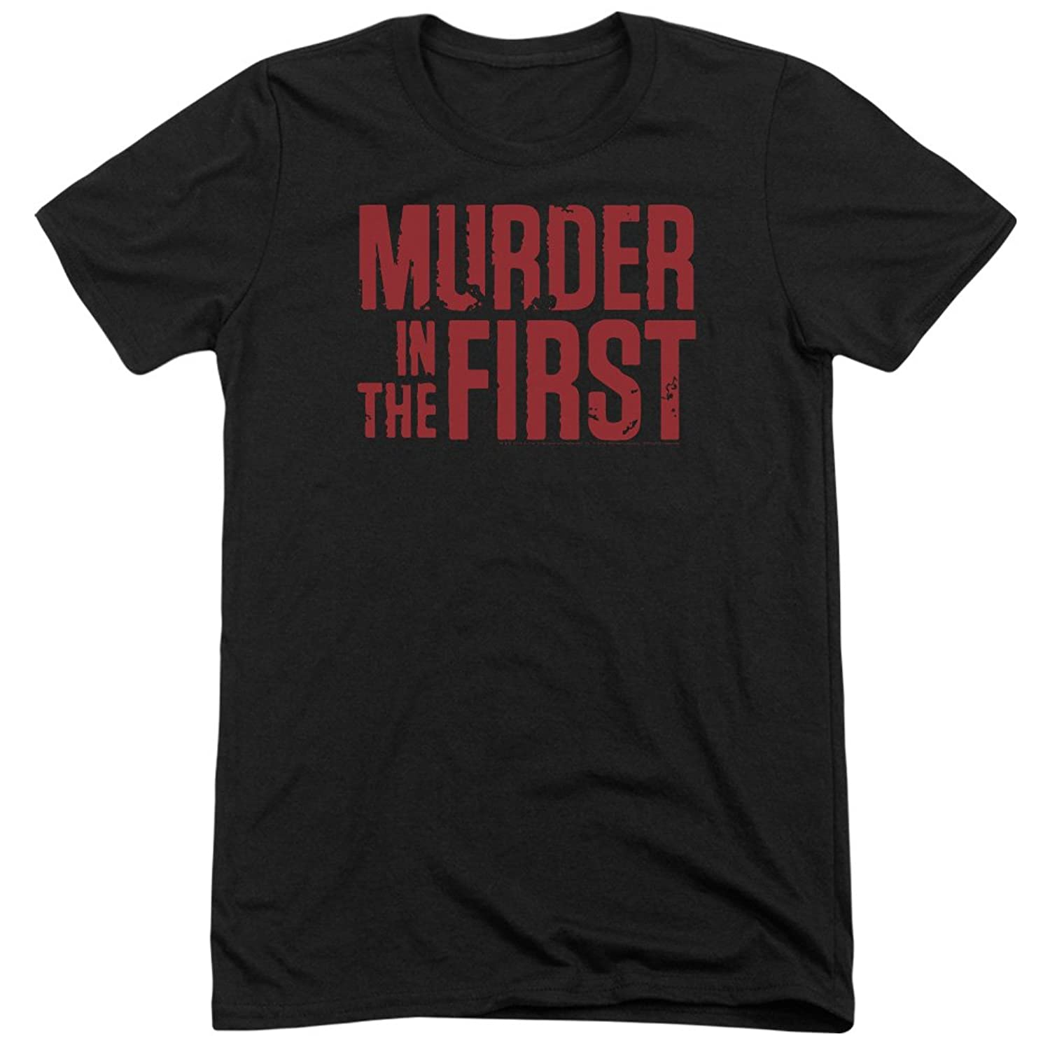 Murder In The Frist Men's Stacked Logo Tri-Blend T-Shirt