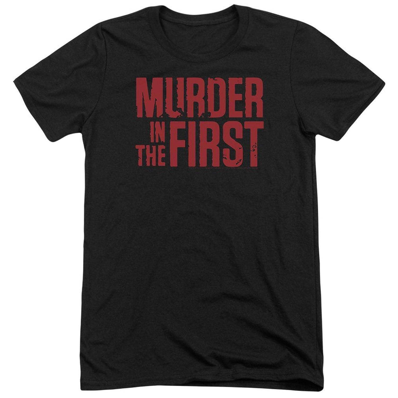 Murder In The Frist Men's Stacked Logo Tri-Blend T-Shirt