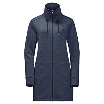 differently preview of latest design JACK WOLFSKIN Damen Fleecemantel FINLEY LONG JACKET WOMEN ...
