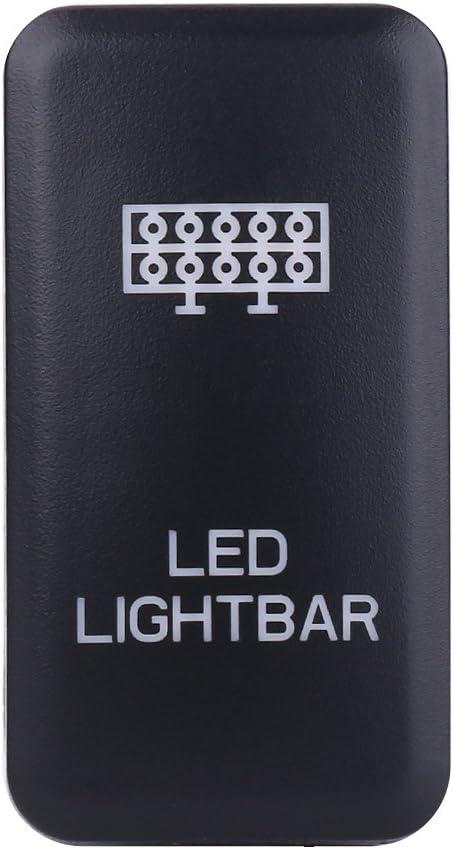Barra de luces LED Interruptor basculante ENCENDIDO-APAGADO Luz LED Keenso 12V LED azul Auto encendido//apagado Interruptor basculante SPOT LIGHTS