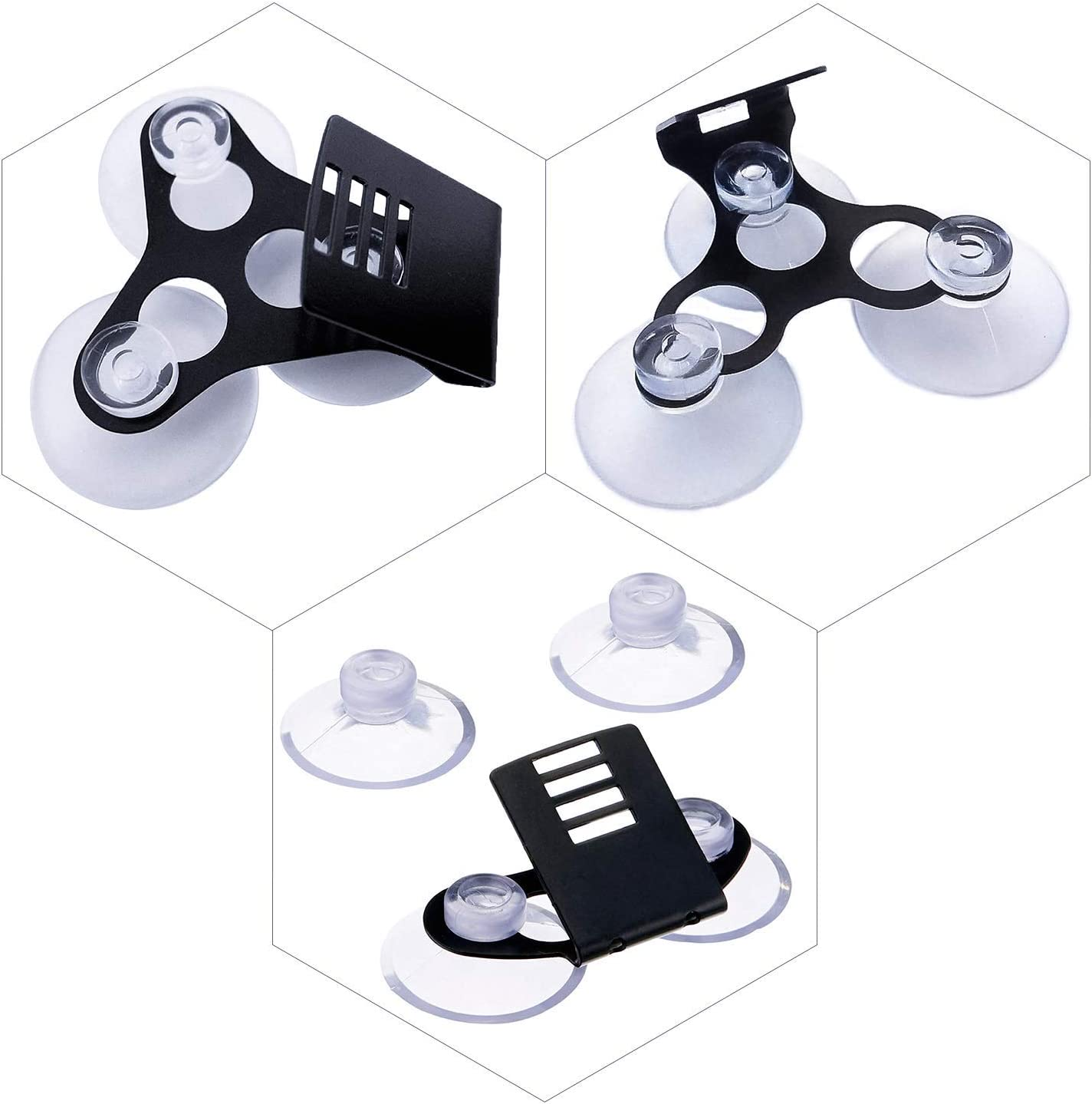 LanBaiLan 10 Pcs Radar Detectors Suction Cups for Clear Cobra Escort and Car Windshield Suction Cup
