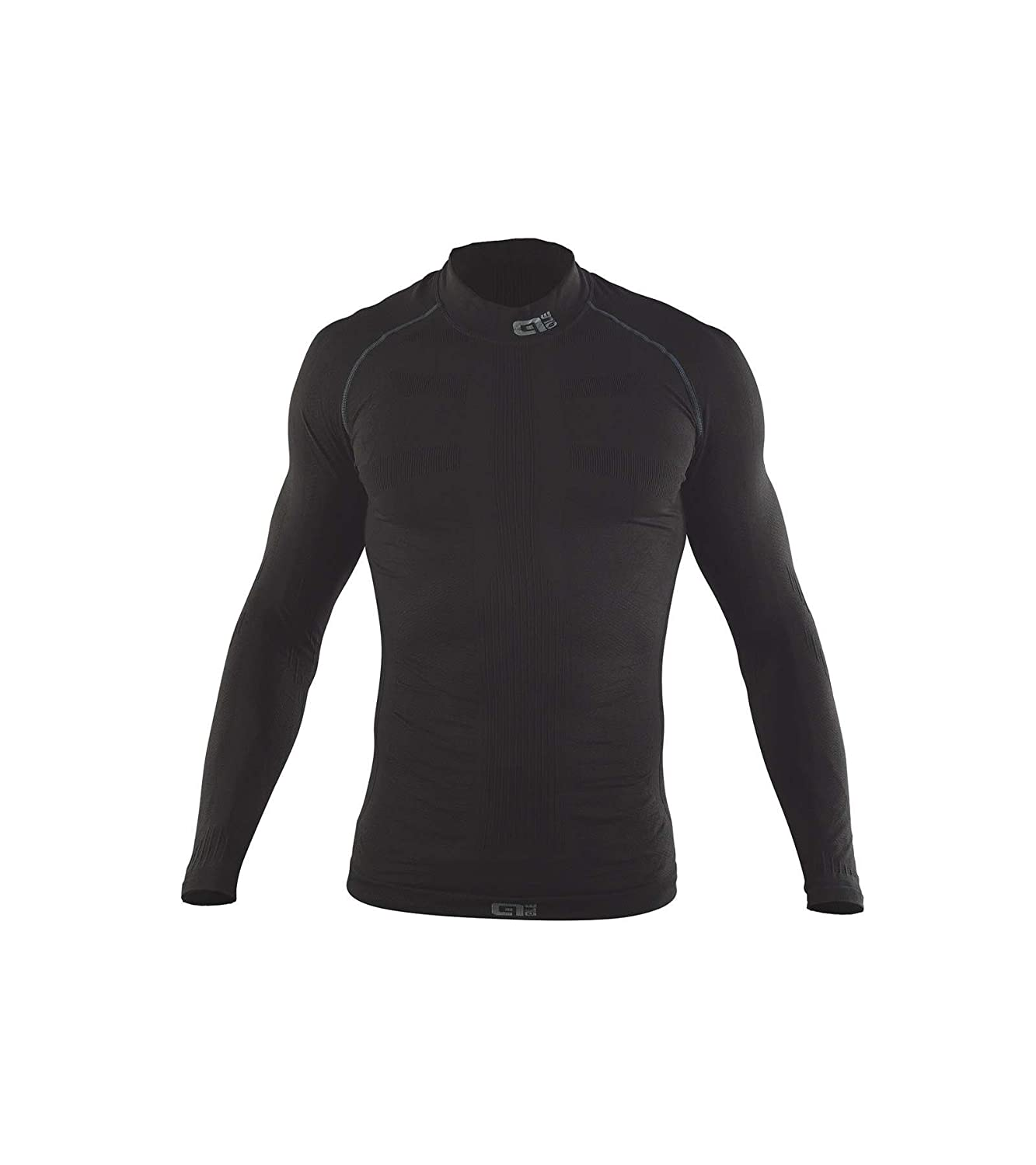 ALE – Seamless Long Sleeve Base Layer, Farbe Carbon, XL
