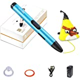 3D Printing Pen Kit, Professional 3D Printing Pen with OLED Display for kids,Doodling Art Craft Making,Adults,Girls,Artists,Doodling,Teens, Printing 1.75mm PLA/ABS Filament Refills