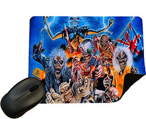 Iron Maiden design 2 Mouse Mat / Pad - By Eclipse Gift ()