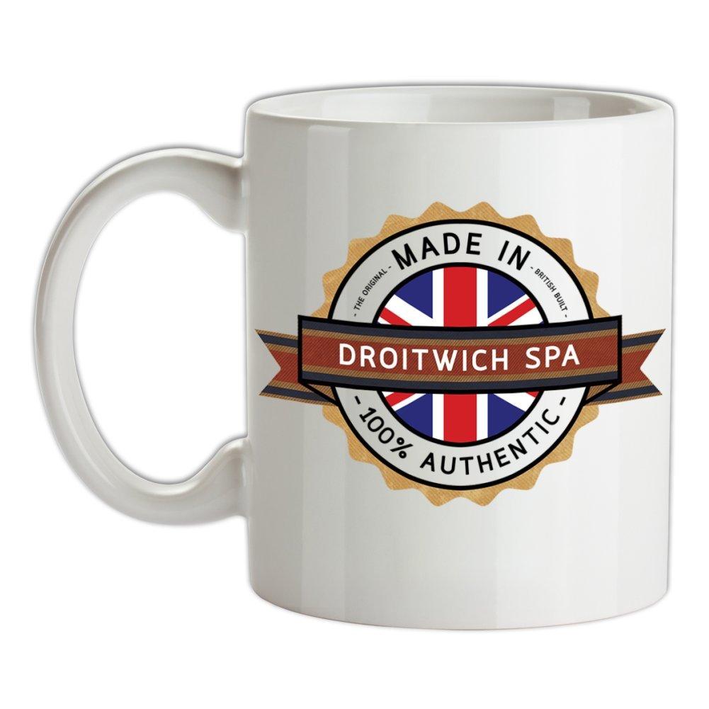 Made In DROITWICH SPA 100% Authentic - 10oz Ceramic Mug