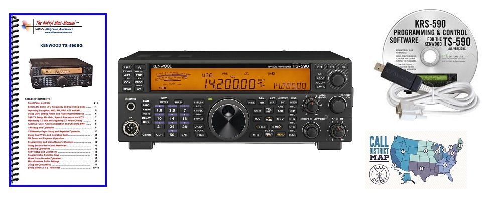 Accessories Mini-Manual and Ham Guides TM Quick Reference Card Includes Yaesu FT-2980R 80W FM 2M Mobile Transceiver Radio and Accessory Bundle 3 Items Nifty