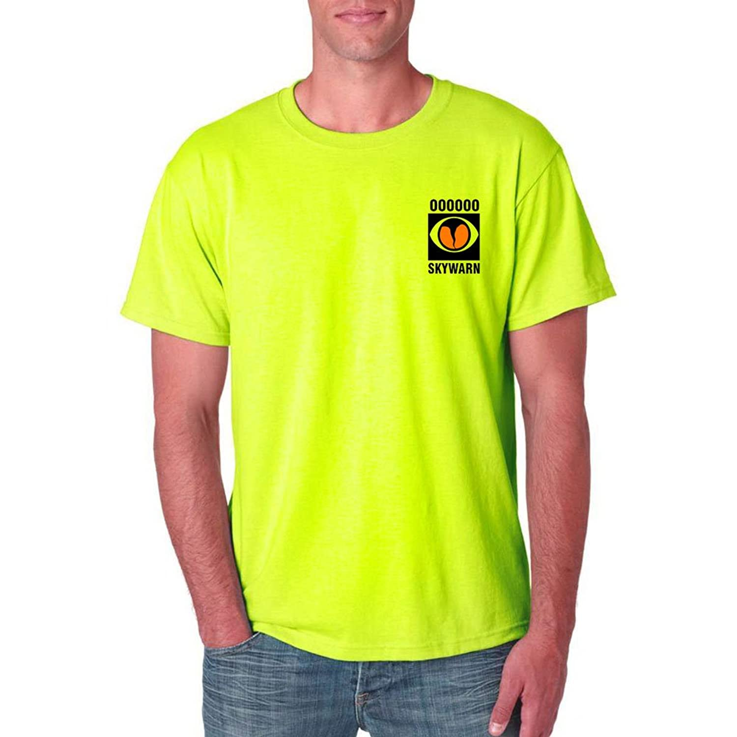 Skywarn - Official Storm Spotter T-Shirt with custom Call Sign on front