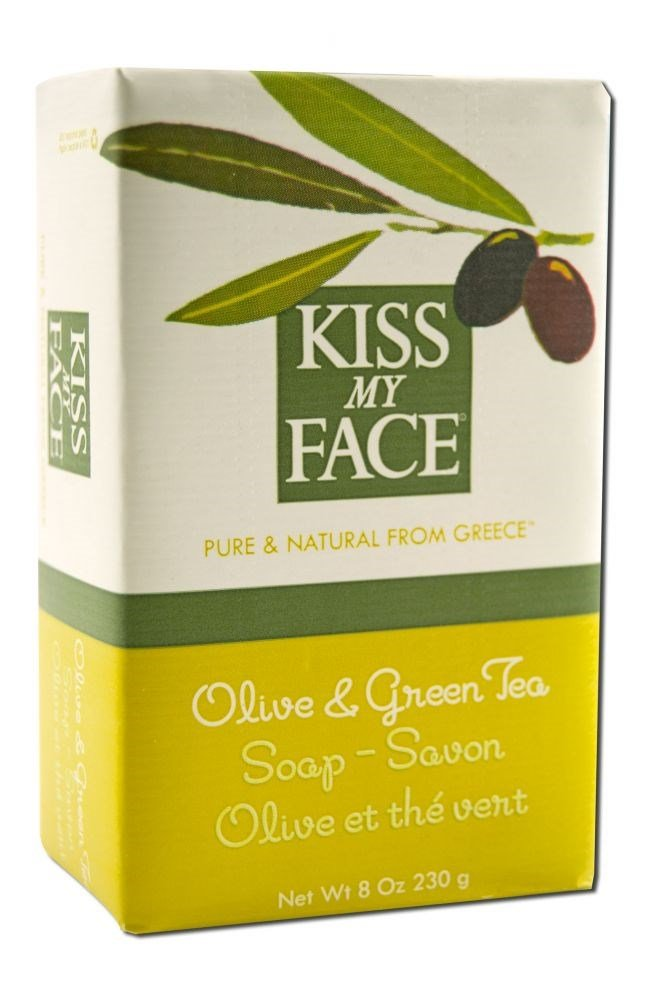 Kiss My Face Soap Bar Olive & Grn Tea