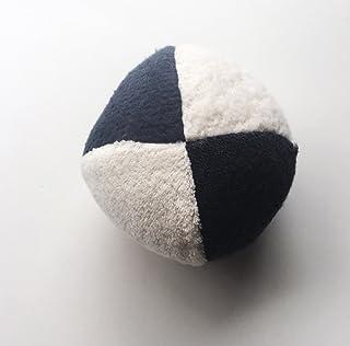 Organic Cotton Fabric Contrast Ball Sensory Infant Baby Toy