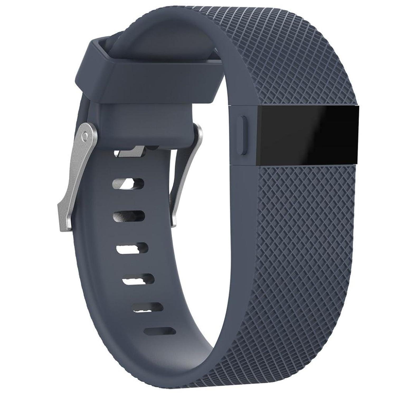 vesniba交換シリコンバンドゴム製ストラップリストバンドブレスレットfor Fitbit Charge HR 160-190MM アーミーグリーン  アーミーグリーン B0741435T4