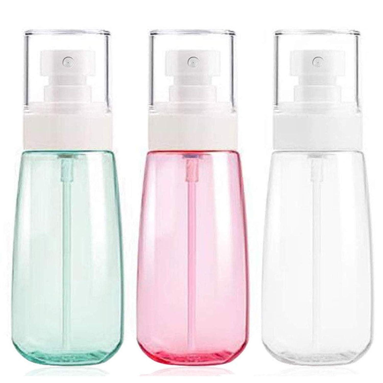 limpieza de plantas de cocina jardiner/ía 1 unidad HASAGEI 3 botellas de spray de 500 ml vac/ías transparentes pulverizadoras de flores con boquilla bloqueable para desinfecci/ón