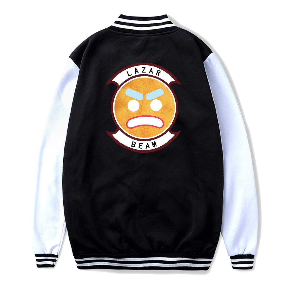 Youth Boys Girls Lazarbeam Uniform Baseball Jacket Loose Coat for Girls Boys Black XL by Lakssn