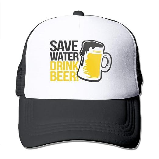 714501992bd Save Water Drink Beer Classic Unisex Baseball Cap Hat Denim Snapback ...