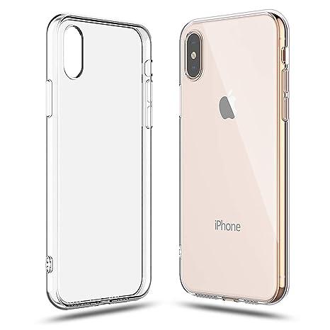 Amazon.com: Shamo - Carcasa para iPhone XS, absorción de ...