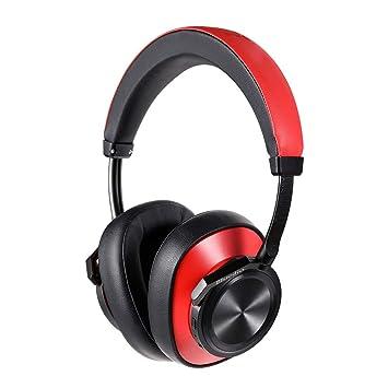 Sencillo Vida Auriculares Bluetooth inalámbricos de Cancelación de Ruido Activa, Auriculares estéreo portátiles, con