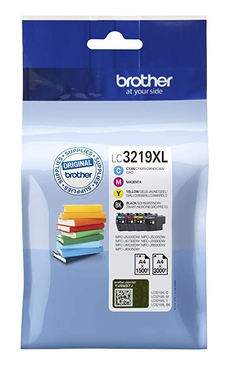 1 Set of Genuine Original Brother LC3217 Ink Cartridges OEM Value Pack