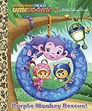 Purple Monkey Rescue! (Team Umizoomi) (Little Golden Book)