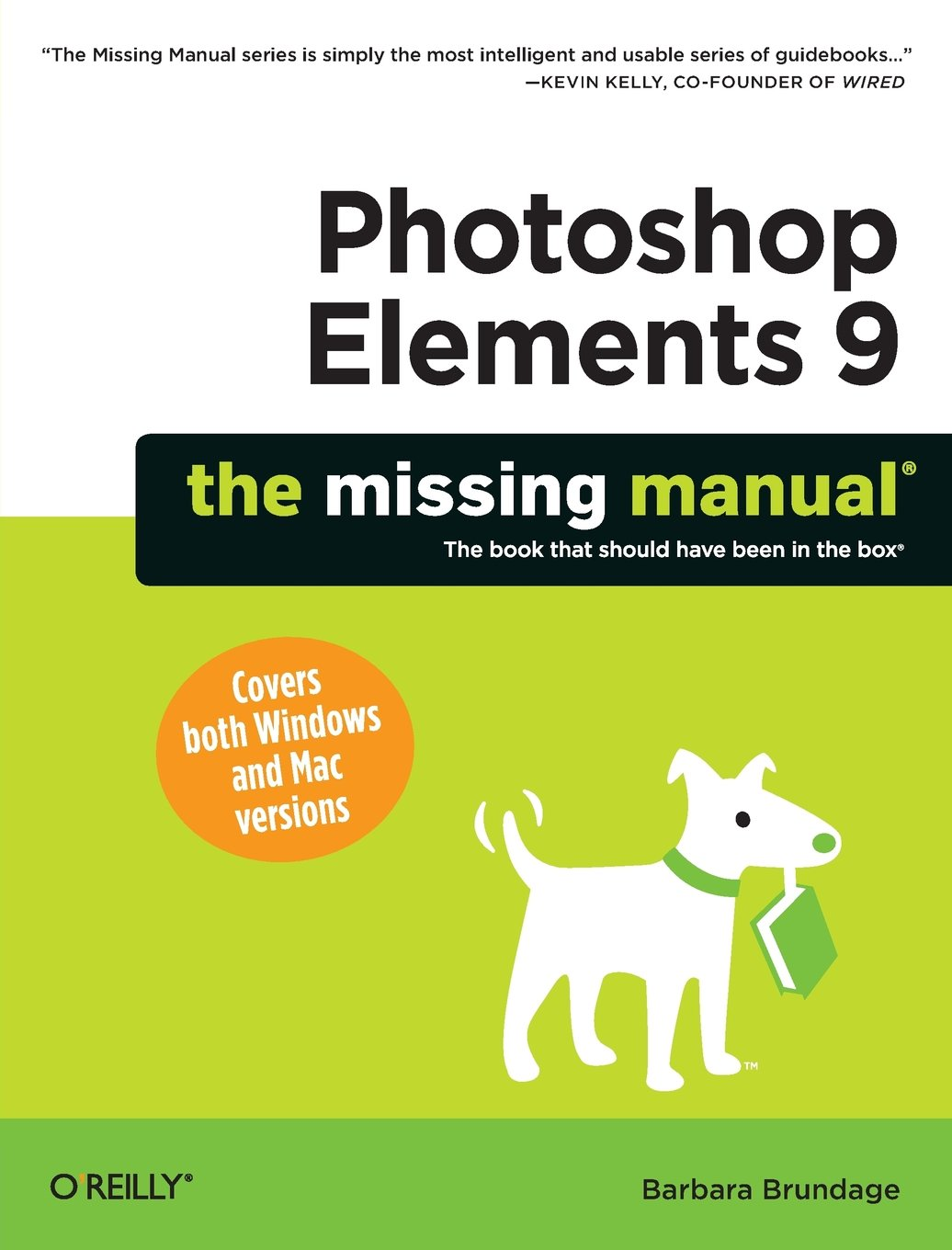 Photoshop elements 9 the missing manual barbara brundage photoshop elements 9 the missing manual barbara brundage 9781449389673 photography amazon canada baditri Images