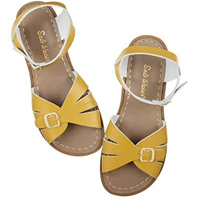 5737441a703 Salt Water Sandals by Hoy Shoes Girl s Classic (Big Kid Adult) Mustard 4