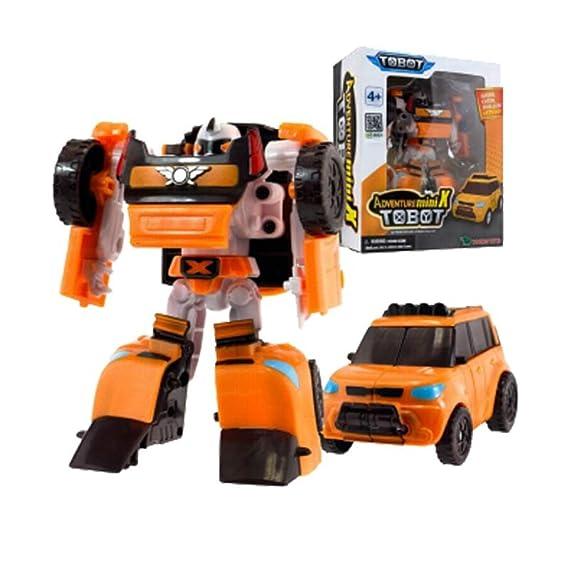 Tobot Deltatron Transformer Robot 3 Cars toy Action Figure korea animation Young