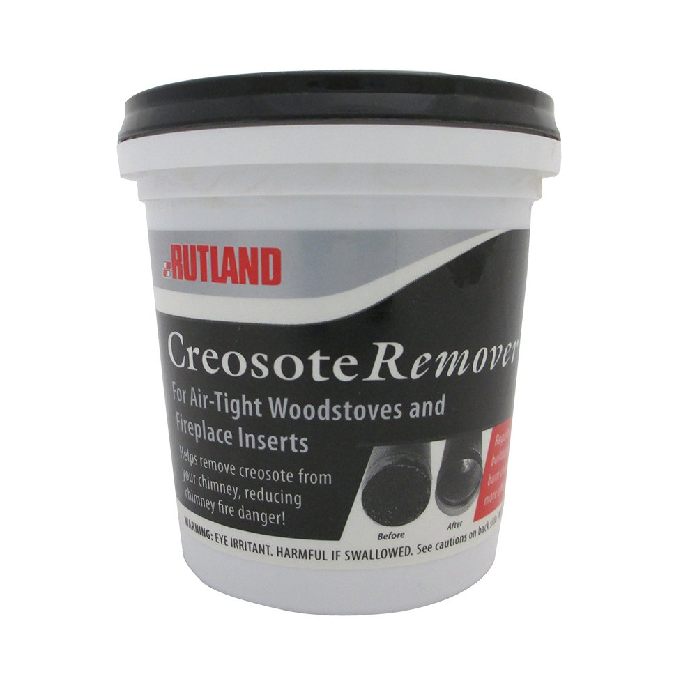 Rutland Dry Creosote Remover Chimney Treatment, 1-Pound by Rutland Products