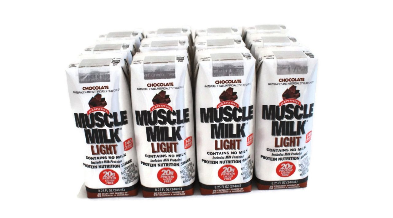 Muscle Milk Light 8.25-ounce Chocolate 12-count