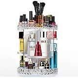 Cozihoma Acryl Make up Organizer 360 ° Drehen Einstellbar Karussell Speicher Funktion Kosmetische Lagerung