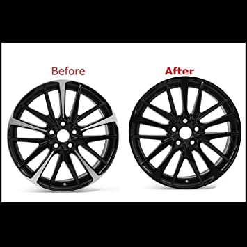 Amazon Com Chrome Delete Vinyl Kit Blackout Trim Overlay For 2018 2020 Toyota Camry Xse 19 Sport Wheels Rim Matte Black Automotive