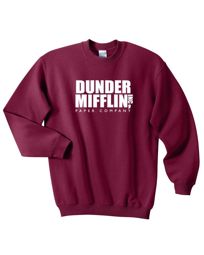 Mars NY Dunder Mifflin Crew-Neck Sweatshirt - Premium Quality TV Shirt Sweatshirt MUH-STLOGO-MRNXXL