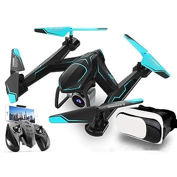 teakilly Dron cámara, cámara HD de 720p, quadrotor con Gafas VR ...