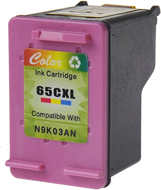6 Black,4 Tri-Color SuperInk 10 Pack High Yield Compatible for HP 65 65XL 65 XL N9K03AN N9K04AN Ink Cartridge with New Chip use in Envy 5052 5055 5058 DeskJet 2622 2655 2624 3720 3752 3721 Printer