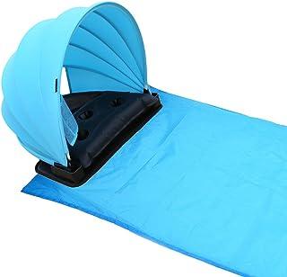 HAIYANLE Pop Up Portable Réglable Pique-Nique/Camping Soleil Couvert d'ombre avec Couverture, en Plein air Pique-Nique/Camping Tente/Mat, Protection Solaire personnelle/abri En plein air Pique-nique / camping Tente / Mat KX