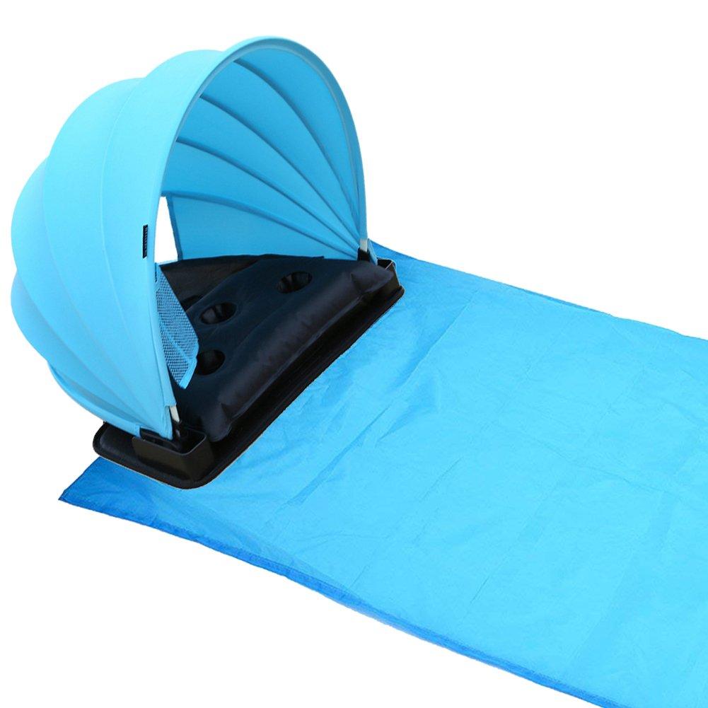 HAIYANLE Pop Up Portable Réglable Pique-Nique/Camping Soleil Couvert d'ombre avec Couverture, en Plein air Pique-Nique/Camping Tente/Mat, Protection Solaire personnelle/abri