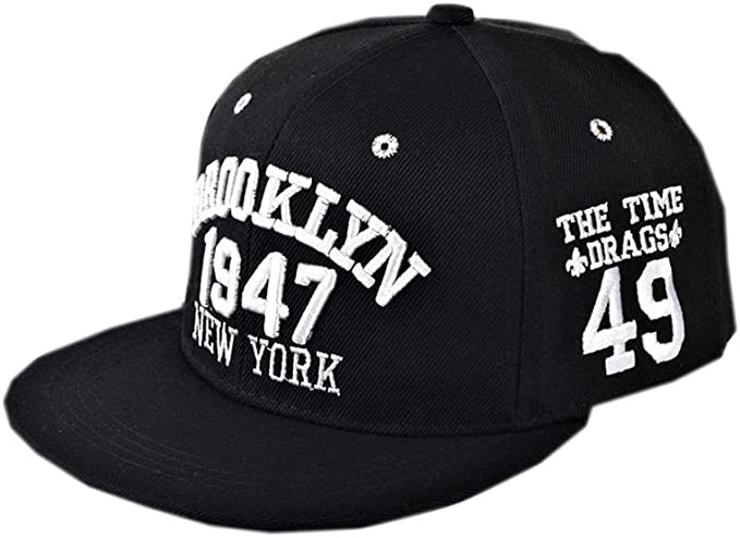 autlet Plain New York Brooklyn 1947 bordado Gorra de béisbol ...