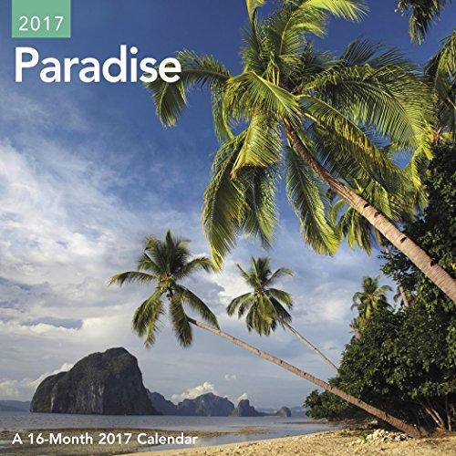 Paradise Mini Wall Calendar (2017)