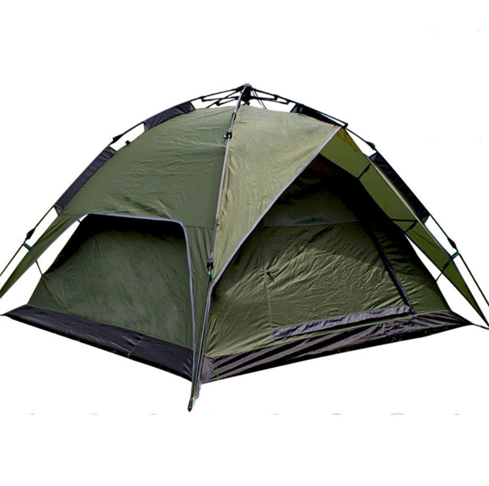 ZHANGP Outdoor 3-4 Personen Doppel automatische Zelt Regensturm Camping Zelt Freies Build Quick Eröffnung Camping Zelt