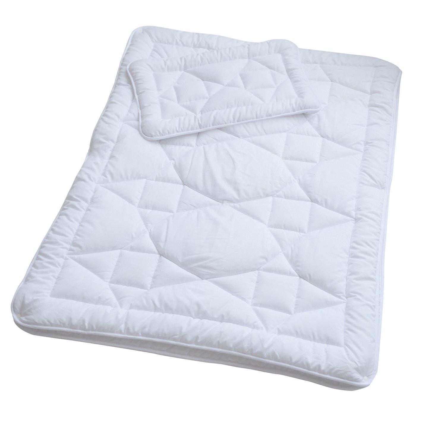 2 tlg Kinderbett Set Decke Kissen 120x90cm Bettdecke Bettdeckenset