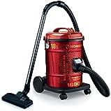هومر مكنسة برميل كهربائية ، 18 لتر ، 1600 وات - احمر HSA211-07