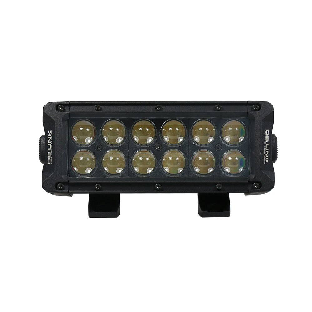 db Link DBLB8RGB 8 Inch Combination Spot Flood Lighting Pattern Light Bar