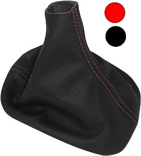 Schaltsack Schalthebelmanschetten Schalthebelmanschette Schaltbet/ätigungs Schwarze Farbe 100/% schwarz N/ähten Aerzetix