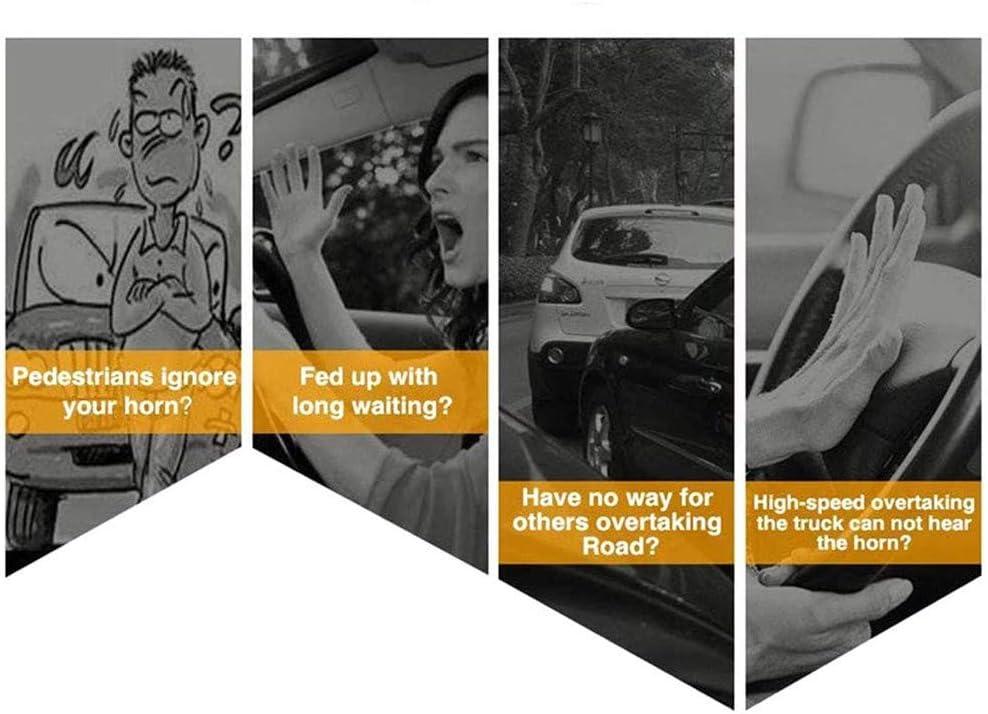 GRGM 300 Db Impermeabile Alto e Basso Camion e Nave Fischietto Super Rumoroso a Doppio Tono Moto Un Paio di Corna Rosse