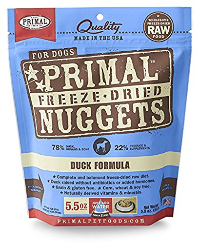 (Primal Pet Foods Freeze-Dried Canine Duck Formula 5.5 Oz)