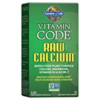 Garden of Life Raw Calcium Supplement - Vitamin Code Whole Food Calcium Vitamin...